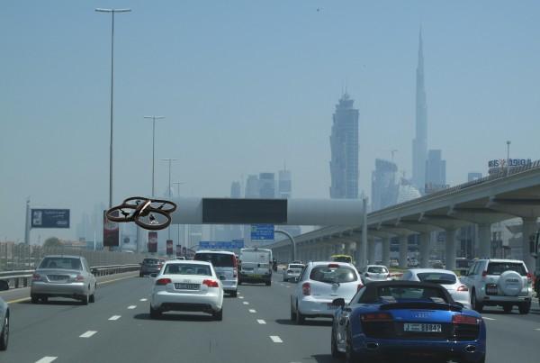 Traffic Safety Drone Solutions Dubai