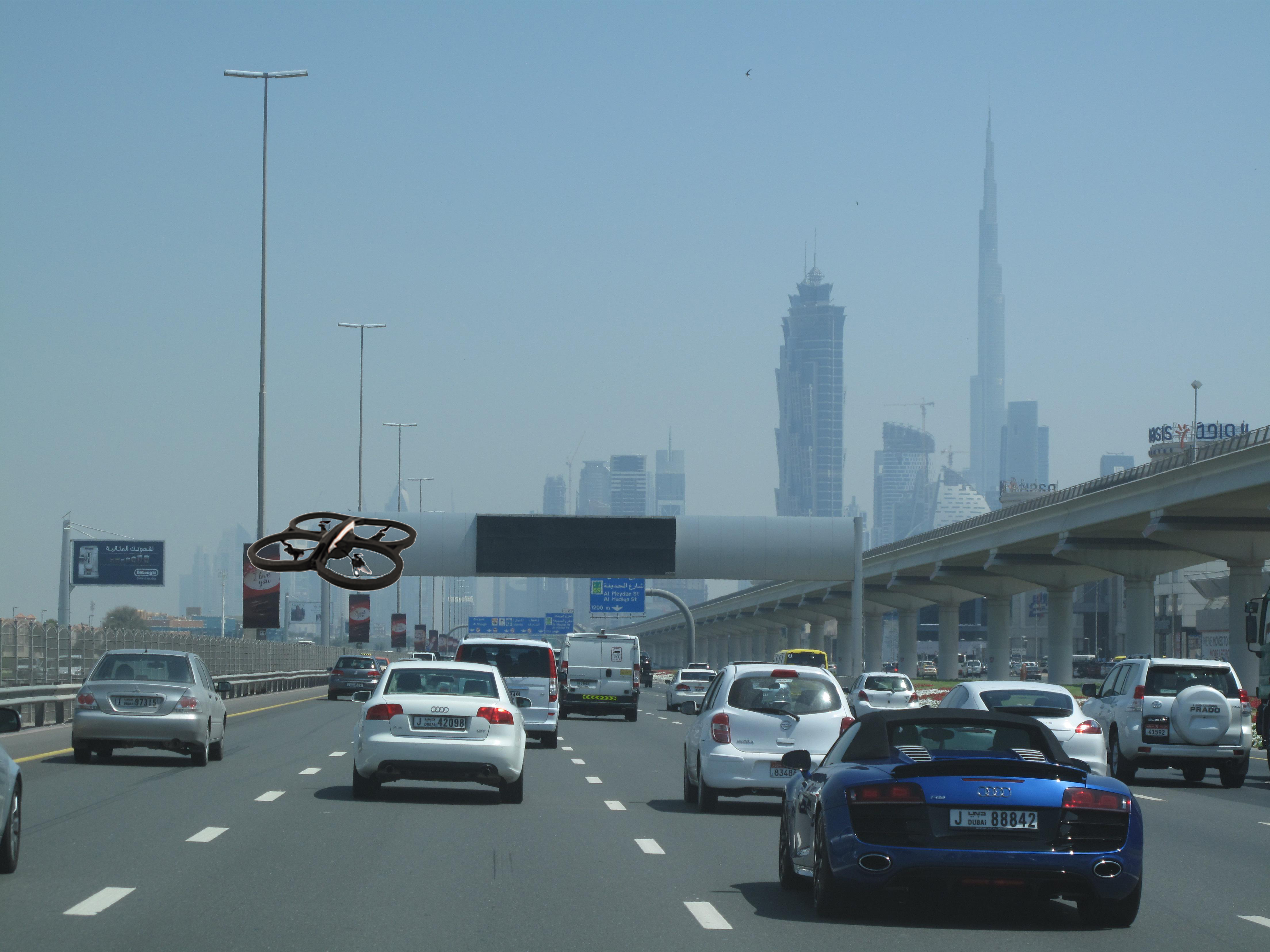 Traffic Safety Drone Solutions Dubai