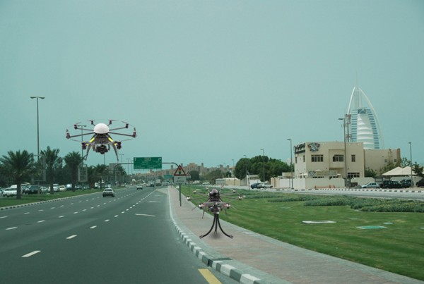 Drone Speed Cameras in Dubai