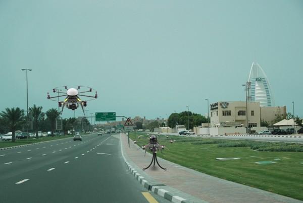 Drone Speed Cameras in Dubai