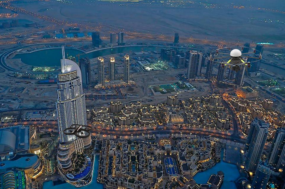 Surveillance Drone Cameras Dubai